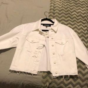 Small White Jean jacket